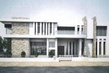 Villa inachevée sur un terrain de 707m² au lac 2