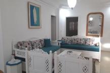Location d'un étage de villa  s+2 meublé à Ennaser2
