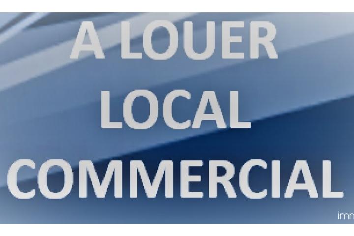 A louer un local commercial de 100 m² à la Marsa.