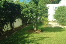 Location d'une Villa s+3  avec jardin à Gammarth Sup