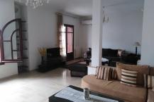 Location/Étage de villa S+3 meublé- Menzah 5.