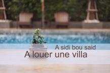 A vendre une villa de 1500 m² sur un terrain de 2600 m² ( avec piscine )