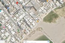 Un studio meuble' au rez-de-chaussée situe' 100 mètres de la plage à Carthage Salammbô.